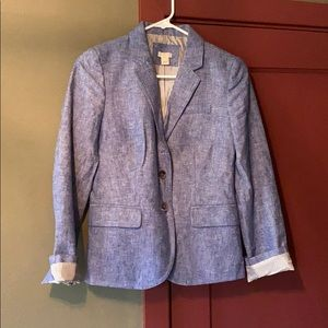 J Crew chambray blazer